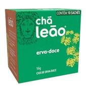 Chá de Erva Doce Sachês de 1,6g CX 10 UN Leão
