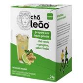 Chá Verde com Gengibre e Limão Cold Brew Sachês de 2,5g CX 10 UN Leão