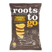 Chips de Batata Doce Sabor Mostarda Dijon 45g 1 UN Roots To Go