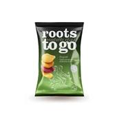 Chips de Mandioca Batatas Doces e Beterraba Original 45g 1 UN Roots To Go