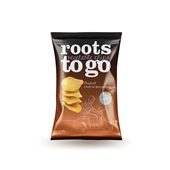 Snack Sweet Potato Chips de Batatas Doces 45g 1 UN Roots To Go