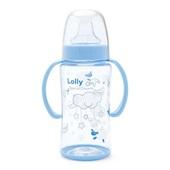 Copo Dreams com Alça e Bico de Silicone 350ml Azul 1 UN Lolly