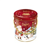 Panettone com Gotas de Chocolate Premium Lata 400g 1 UN Santa Edwiges