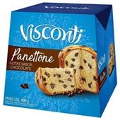 Panettone Gotas de Chocolate 400g 1 UN Visconti