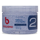 Gel Condicionador Média Fixação Fator 2 Incolor 300g 1 UN Bozzano