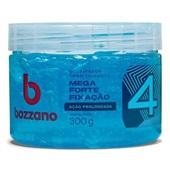 Gel Condicionador Mega Forte Fixação Fator 4 Azul 300g 1 UN Bozzano