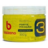 Gel Condicionador Forte Fixação com Proteção Solar Fator 3 Amarelo 300g 1 UN Bozzano