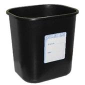Cesto de Lixo 15L Preto 1 UN Carbrink