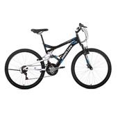 Bicicleta Stinger Aro 26 Preta e Branca 1 UN Houston