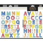 Adesivo Decorado Duplo Alfabeto Grafon's 1 FL Tilibra