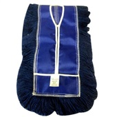 Refil Mop Pó Profissional 400g 60x15cm Azul RP600 1 UN Bralimpia