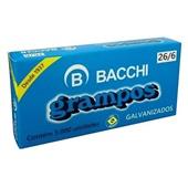 Grampo Galvanizado 26/6 CX 5000 UN Bacchi