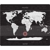 Tapete Protetor de Piso Mapa Mundi 1100x900mm Delo
