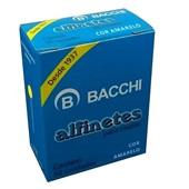 Alfinete para Mapa Nº1 Amarelo CX 50 UN Bacchi