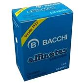 Alfinete para Mapa Nº1 Branco CX 50 UN Bacchi