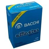 Alfinete para Mapa Nº1 Preto CX 50 UN Bacchi