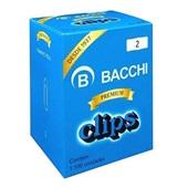 Clips Nº2 Galvanizado CX 1100 UN Bacchi