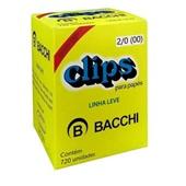 Clips Nº2/0 Galvanizado Linha Leve CX 720 UN Bacchi
