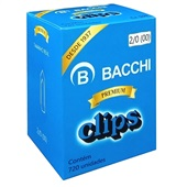Clips Nº2/0 Galvanizado CX 720 UN Bacchi
