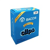 Clips Nº3/0 Galvanizado CX 50 UN Bacchi
