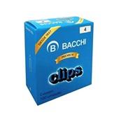 Clips Nº4 Galvanizado CX 100 UN Bacchi