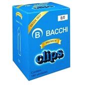 Clips Nº8/0 Galvanizado CX 180 UN Bacchi