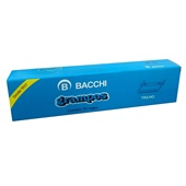 Grampo Trilho Metal 80mm CX 50 UN Bacchi