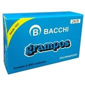 Grampo Galvanizado 24/8 CX 5000 UN Bacchi