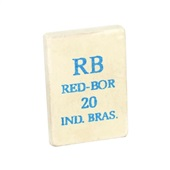 Borracha Branca 20 1 UN Red Bor