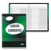 Livro Conta Corrente 1/4 com Índice 100 FL 5093-0 São Domingos