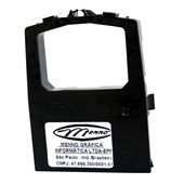 Fita para Impressora Matricial Preta Extra OKI 380/390 MF1250 1 UN Menno
