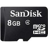 Cartão de Memória 8GB Micro SD com Adaptador 1 UN SanDisk