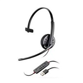 Headset Blackwire 300 USB Preto C310M 1 UN Plantronics