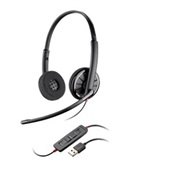 Headset Blackwire 300 USB Preto C320M 1 UN Plantronics