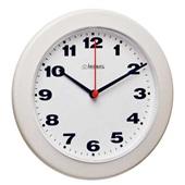 Relógio de Parede Redondo Branco 21x21x3cm 1 UN Herweg