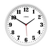 Relógio de Parede Redondo Branco 26x26x4cm 1 UN Herweg