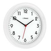 Relógio de Parede Redondo Branco Fosco 28x28x3cm 1 UN Herweg