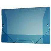 Pasta Aba Elástico Ofício Azul 335x235mm1 UN Plascony