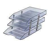 Caixa de Correspondência Tripla Móvel Cristal 1 UN Acrimet