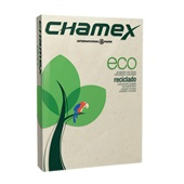Papel Carta Reciclado Eco 216X279mm 75g PT 500 FL Chamex