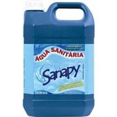 Água Sanitária Cloro Ativo 2,0 à 2,5% 5L 1 UN Sanapy
