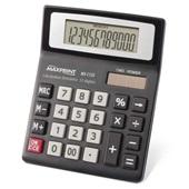 Calculadora de Mesa 12 Dígitos Eletrônica Preto MX-C120 1 UN Maxprint