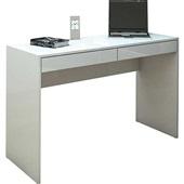 Mesa Escrivaninha Lindoia com 2 Gavetas Branca 75,5x120x45cm 1 UN Politorno