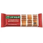 Biscoito Enroladinho Goiabinha 80g PT 1 UN Piraquê