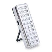 Luminária de Emergência 30 LEDs Recarregável Bivolt 1 UN Force Line
