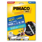 Etiqueta Adesiva InkJet e Laser Carta 16,93x147,64mm Branco 8099L CX 1