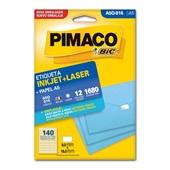Etiqueta Adesiva InkJet e Laser A5 9x16mm Branco A5Q-916 CX 1680 UN Pimaco