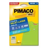 Etiqueta Adesiva InkJet e Laser A5 9mm Branco A5R-909 CX 2304 UN Pimaco