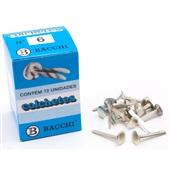 Colchetes Nº 6 30mm CX 72 UN Bacchi