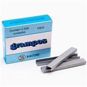 Grampo Galvanizado 106/6 CX 2500 UN Bacchi